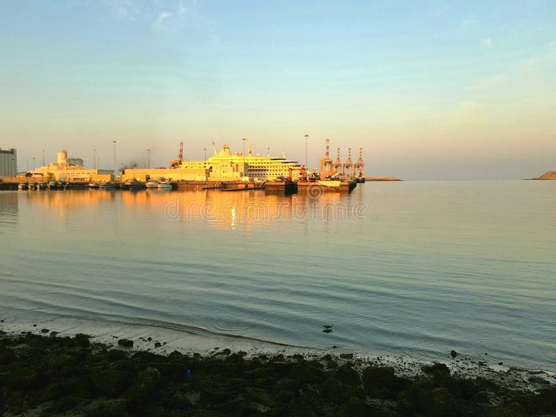 Φω'τα ηλιοβασιλέματος στοκ φωτογραφία με δικαίωμα ελεύθερης χρήσης