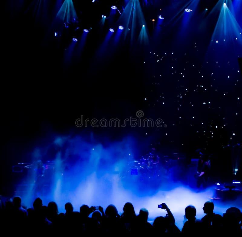Φω'τα σκηνών συναυλίας στοκ φωτογραφία με δικαίωμα ελεύθερης χρήσης