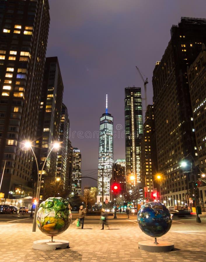 Φω'τα της Νέας Υόρκης στοκ εικόνες με δικαίωμα ελεύθερης χρήσης
