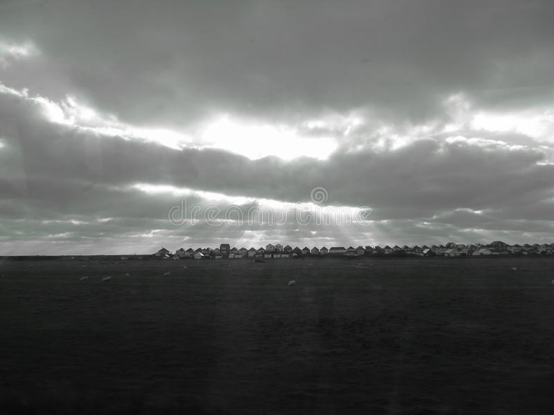 Φω'τα του ουρανού στοκ φωτογραφία με δικαίωμα ελεύθερης χρήσης