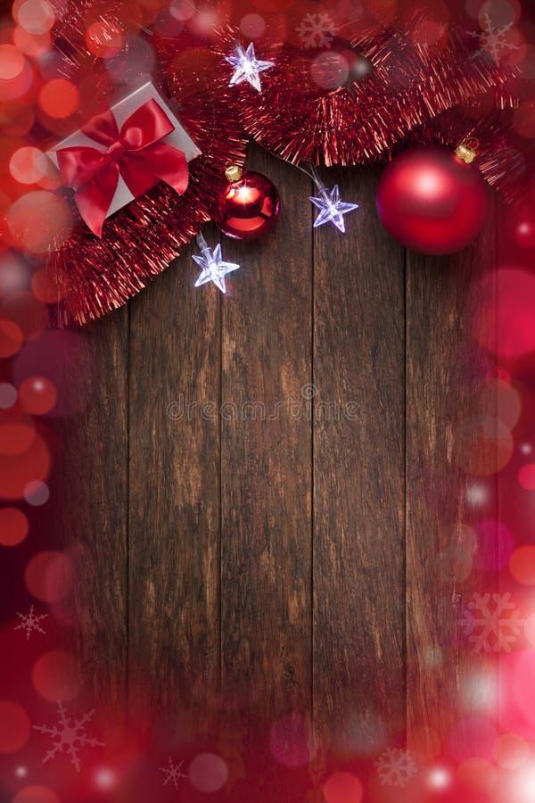Φω'τα υποβάθρου Χριστουγέννων στοκ φωτογραφία με δικαίωμα ελεύθερης χρήσης