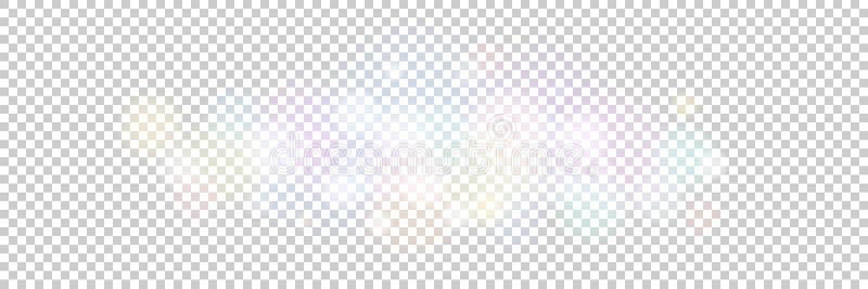 Φω'τα Blured σε ένα διαφανές υπόβαθρο ελεύθερη απεικόνιση δικαιώματος