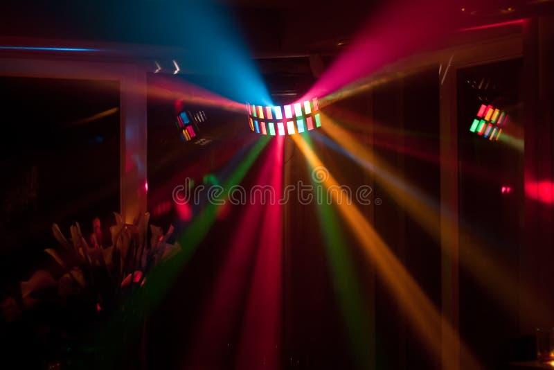 Φω'τα Disco στοκ φωτογραφίες
