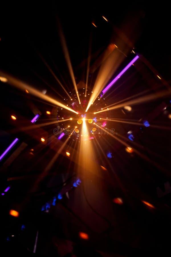 Φω'τα Disco στοκ εικόνες με δικαίωμα ελεύθερης χρήσης