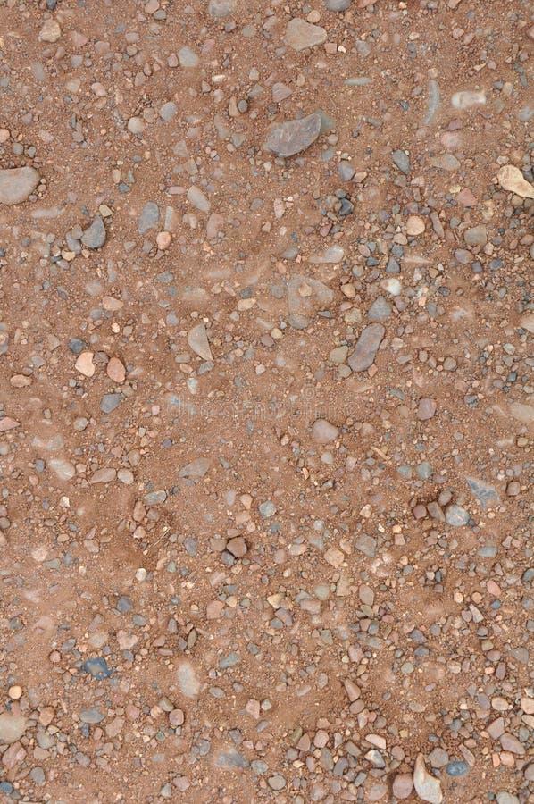 Φόντο διαδρομής pebbly στοκ φωτογραφία