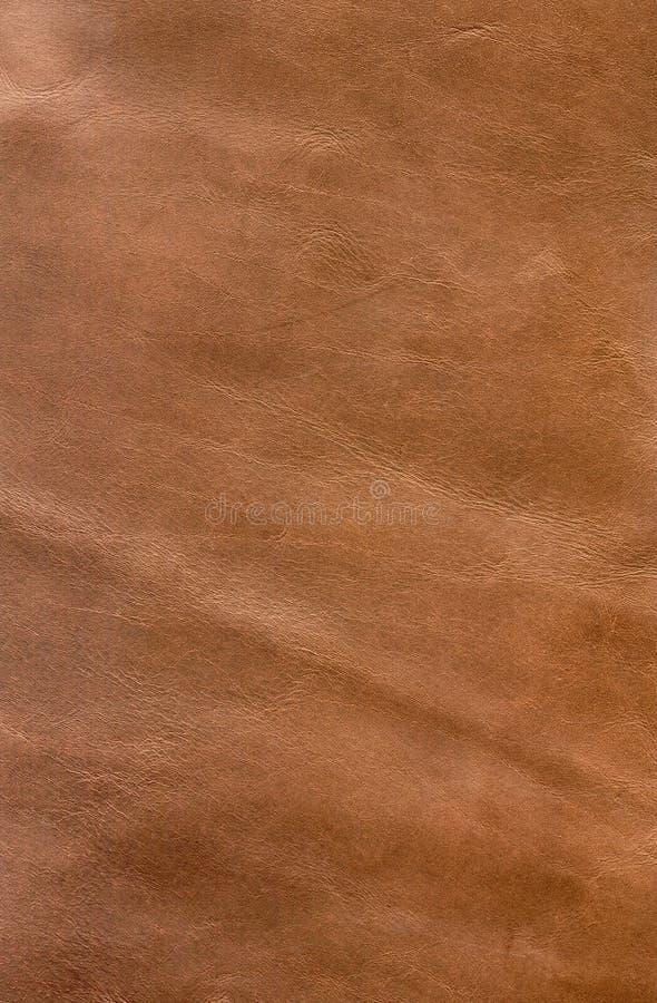 Φόντο κόκκινου καφέ δέρματος με υφή - στοιχείο σχεδίασης γραφικών στοκ φωτογραφία
