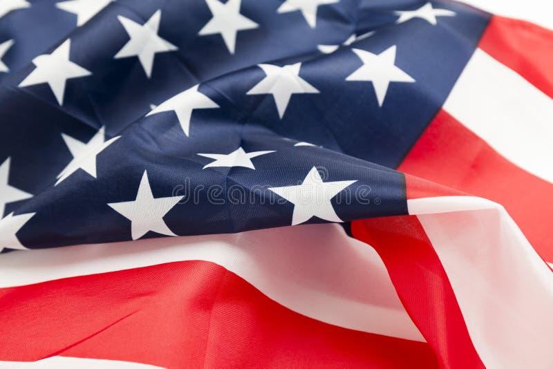 Φόντο σημαίας των ΗΠΑ με ανάσυρση στον άνεμο Αμερικανική ανεξαρτησία και ελευθερία στοκ εικόνα με δικαίωμα ελεύθερης χρήσης