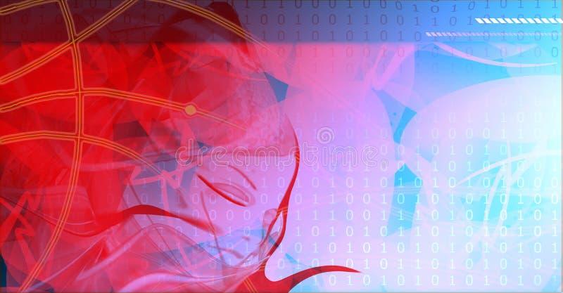 Φόντο τεχνολογίας υψηλής τεχνολογίας. Δωρεάν Στοκ Εικόνα