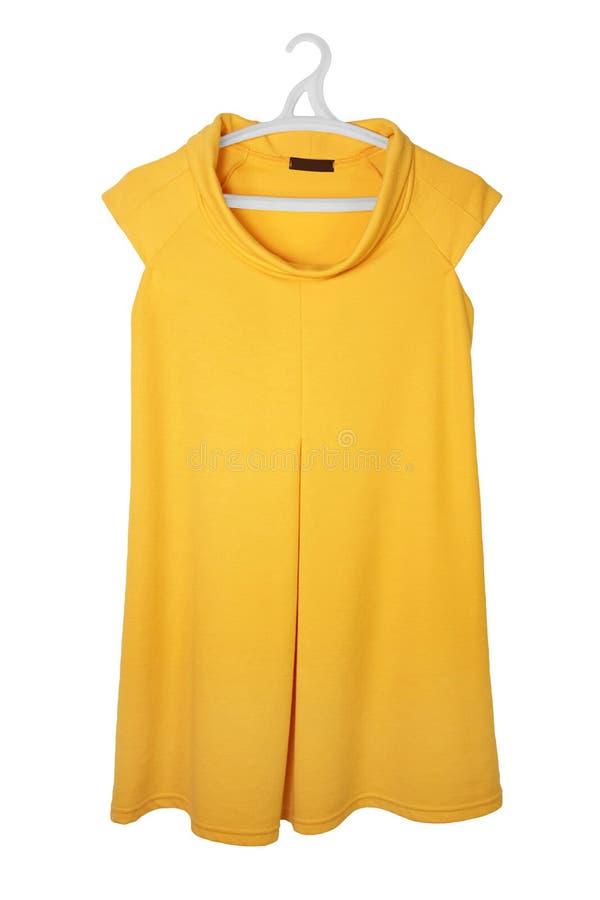φόρεμα κίτρινο στοκ εικόνες