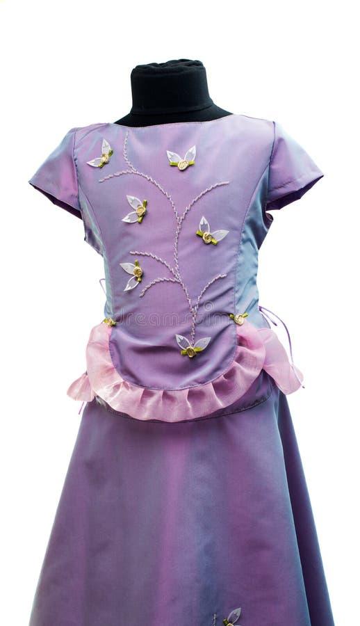 Φόρεμα μωρών που απομονώνεται στοκ εικόνες