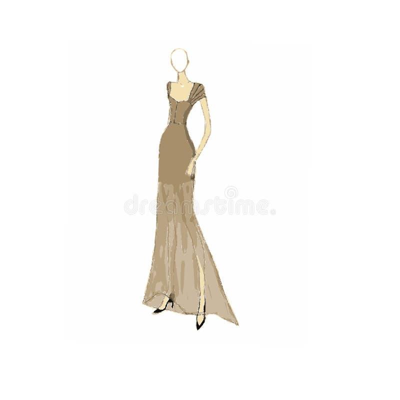 Φόρεμα μόδας στοκ εικόνες με δικαίωμα ελεύθερης χρήσης