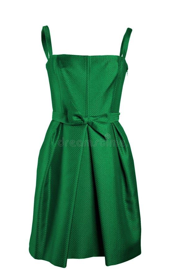 φόρεμα πράσινο στοκ εικόνα με δικαίωμα ελεύθερης χρήσης