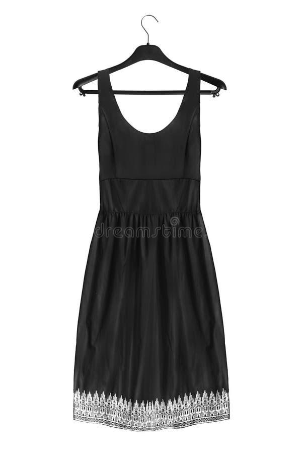 Φόρεμα στο ράφι ενδυμάτων στοκ φωτογραφίες