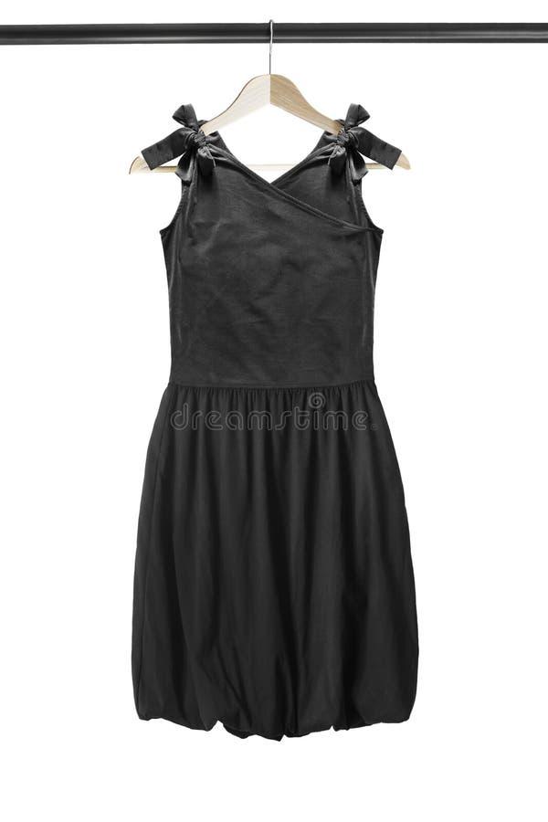 Φόρεμα στο ράφι ενδυμάτων στοκ φωτογραφίες με δικαίωμα ελεύθερης χρήσης
