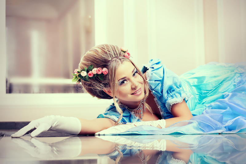 φόρεμα fansy στοκ φωτογραφίες