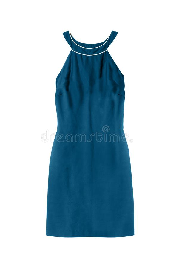 Φόρεμα Halter που απομονώνεται στοκ φωτογραφία με δικαίωμα ελεύθερης χρήσης