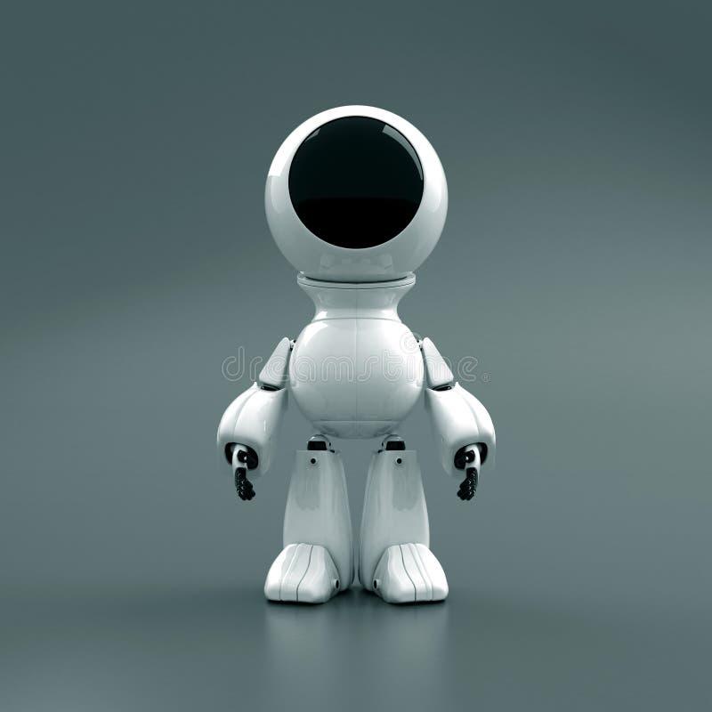 φόρμα αστροναύτη ρομπότ ελεύθερη απεικόνιση δικαιώματος
