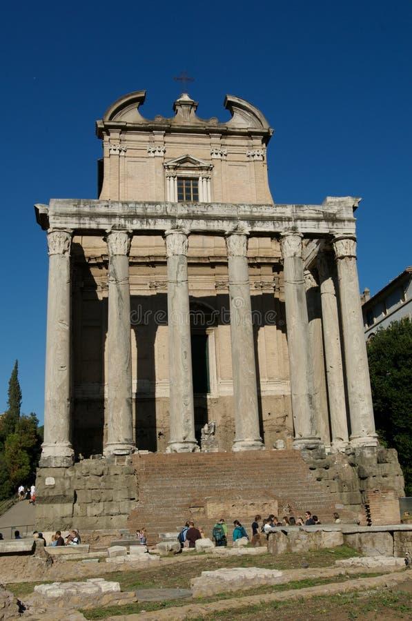 φόρουμ Ρωμαίος στοκ φωτογραφίες
