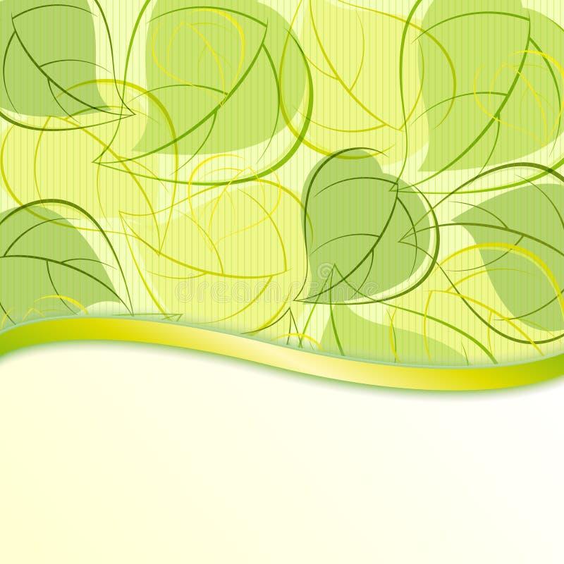φύλλα ανασκόπησης ελεύθερη απεικόνιση δικαιώματος