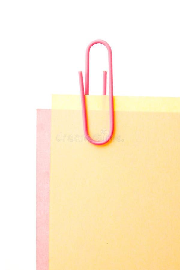 Download φύλλα εγγράφου συνδετήρ στοκ εικόνες. εικόνα από άσπρος - 17053432