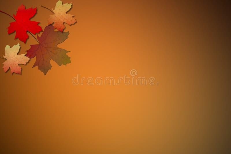 φύλλα πτώσης ελεύθερη απεικόνιση δικαιώματος