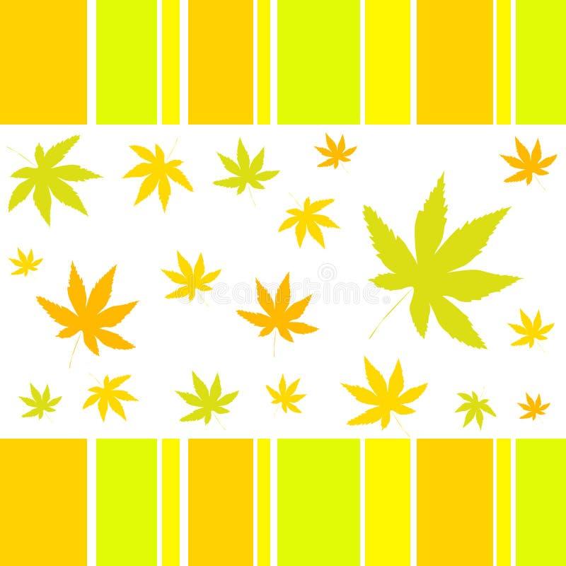 φύλλα φθινοπώρου απεικόνιση αποθεμάτων