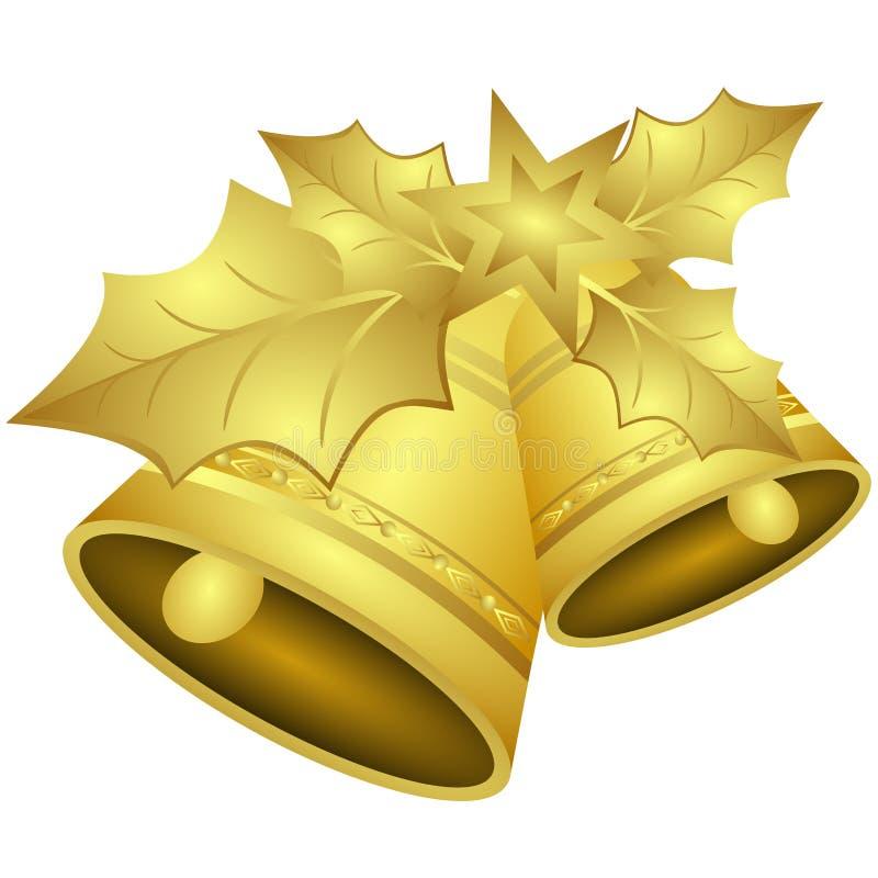 φύλλα Χριστουγέννων κου διανυσματική απεικόνιση