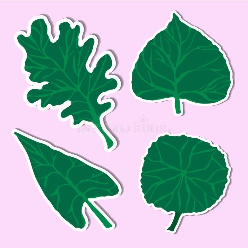 Φύλλο απλού απεικόνιση αποθεμάτων
