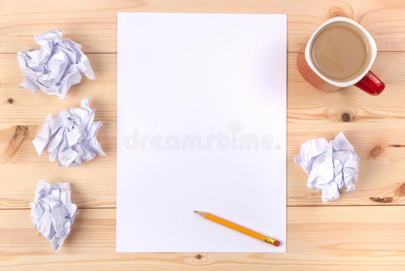 φύλλο εγγράφου γραφείων στοκ φωτογραφία με δικαίωμα ελεύθερης χρήσης