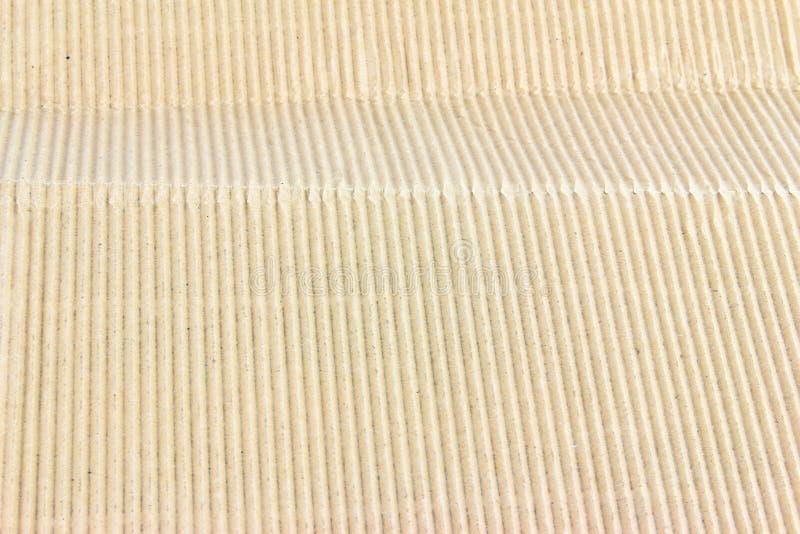 Φύλλο ζαρωμένου χαρτονιού στοκ εικόνες