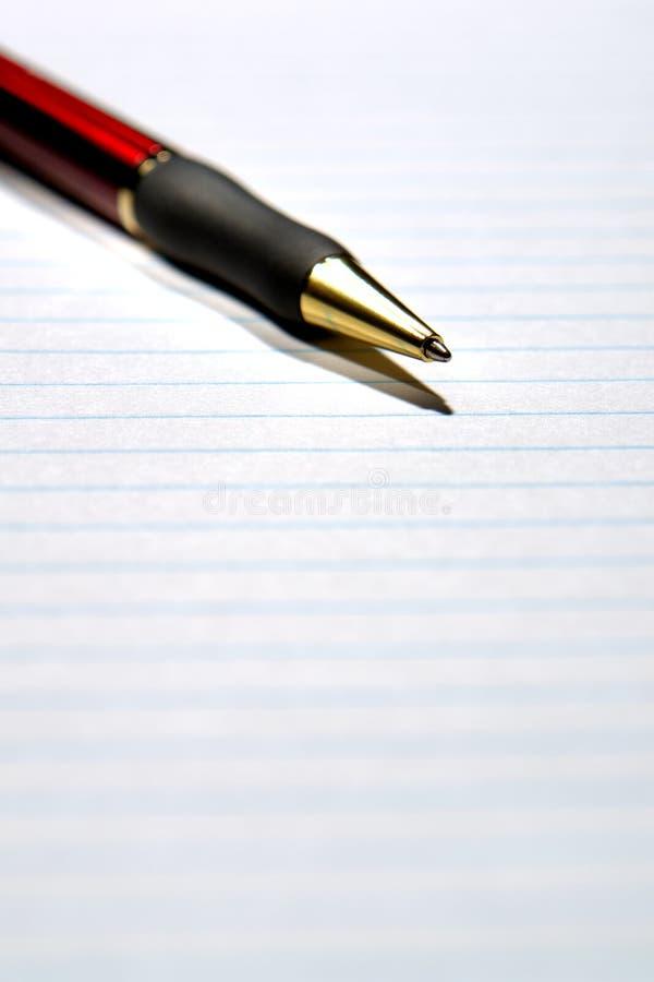 φύλλο πεννών εγγράφου στοκ εικόνα με δικαίωμα ελεύθερης χρήσης