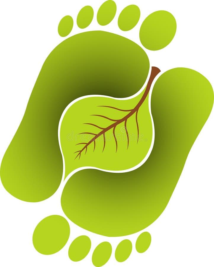 φύλλο ποδιών απεικόνιση αποθεμάτων