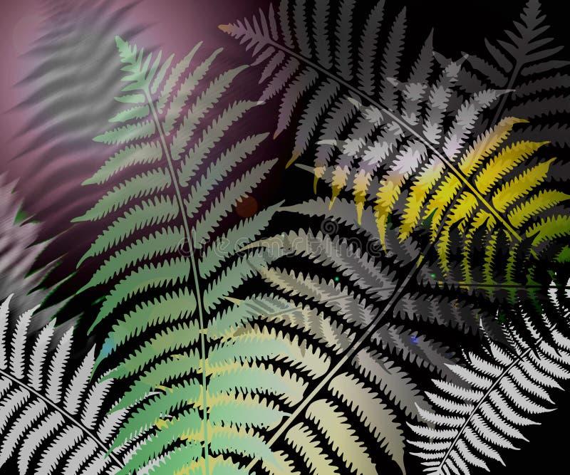 φύλλο φτερών διανυσματική απεικόνιση