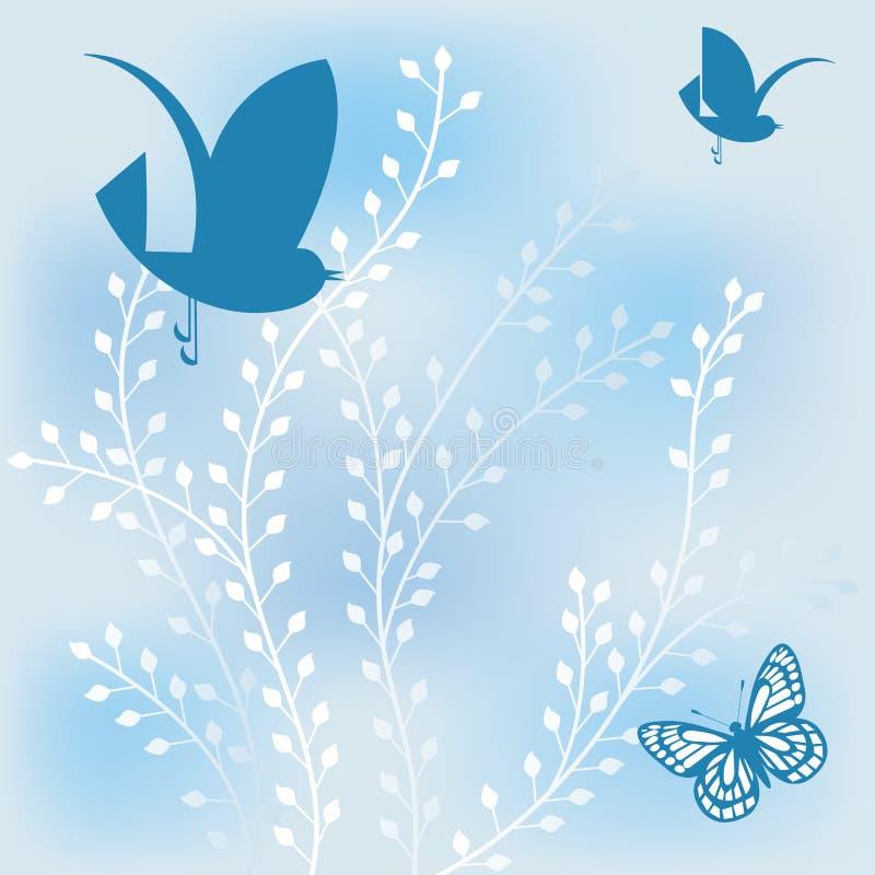 φύλλωμα πεταλούδων που&lamb απεικόνιση αποθεμάτων