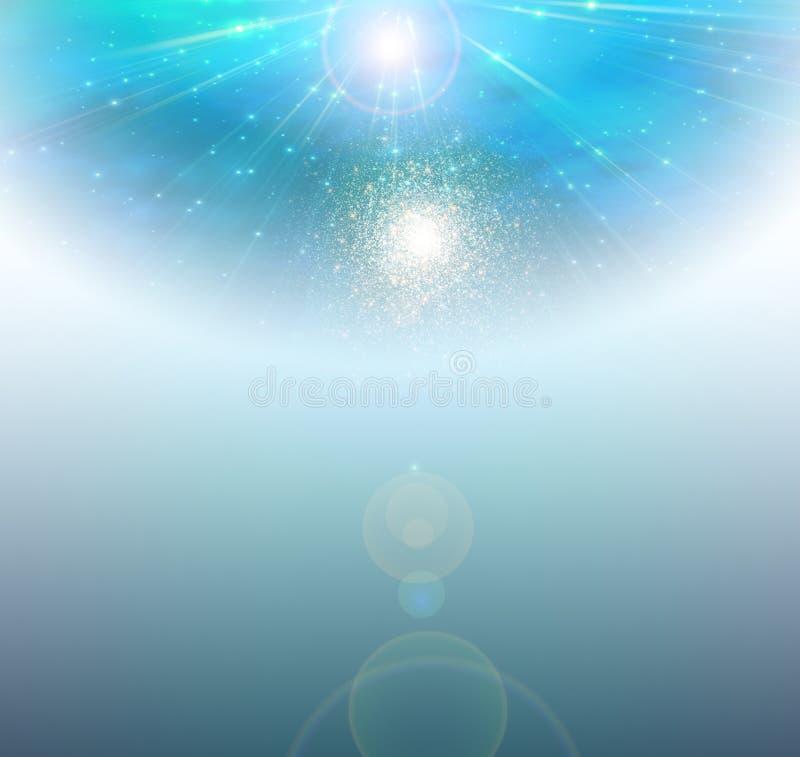Φύσημα του υποβάθρου χρώματος απεικόνιση αποθεμάτων