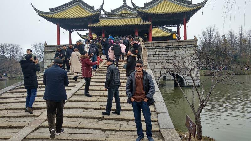 Φύση αρχαία Κίνα ναών γενναιόδωρη στοκ φωτογραφία