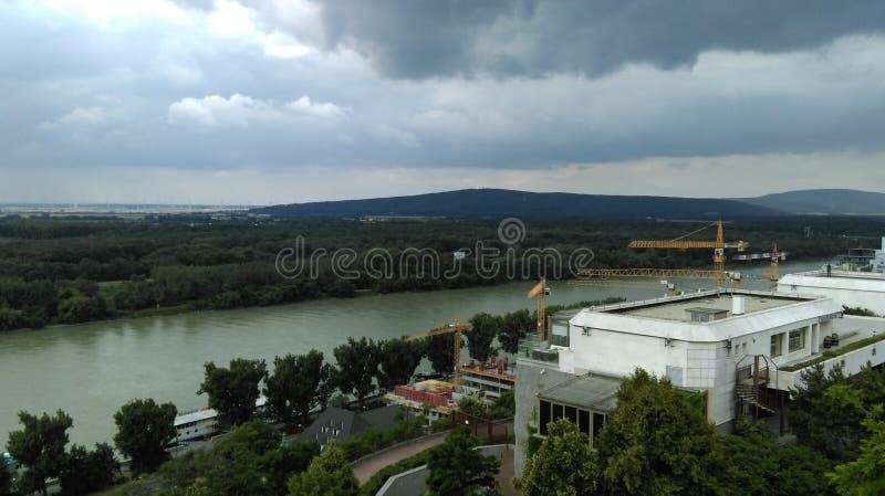 Φύση και ποταμός στοκ φωτογραφίες με δικαίωμα ελεύθερης χρήσης