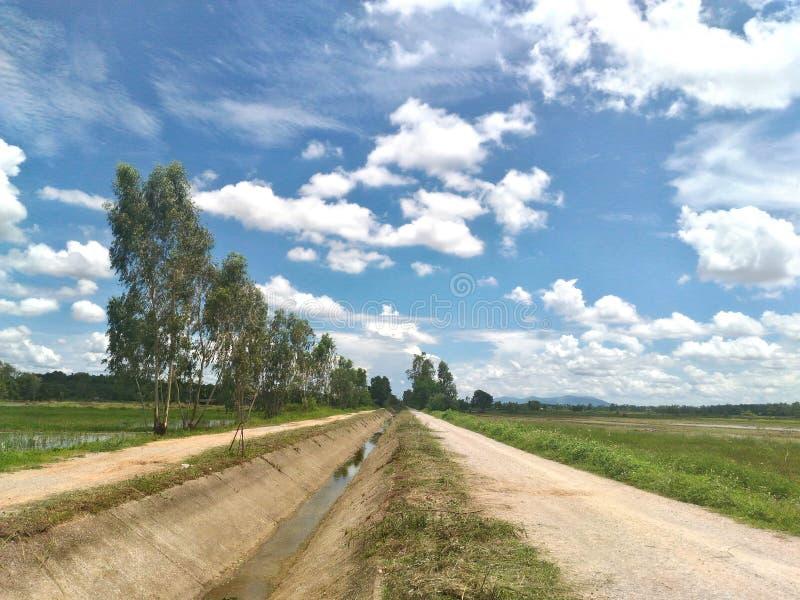 Φύση και σύννεφα στοκ εικόνες με δικαίωμα ελεύθερης χρήσης