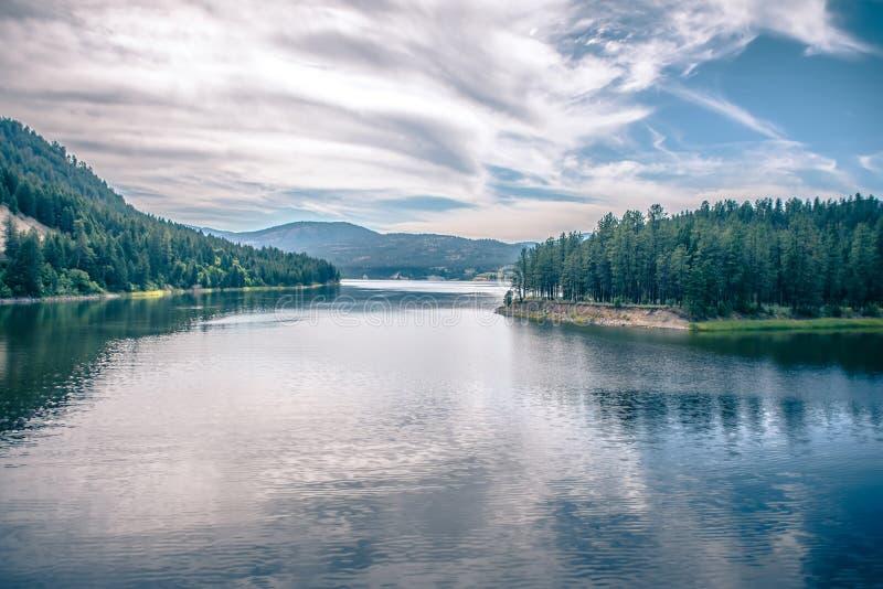Φύση πολιτεία της Washington ποταμών της Κολούμπια στοκ εικόνα με δικαίωμα ελεύθερης χρήσης