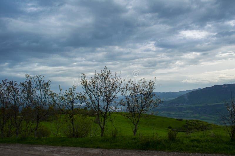 Φύση της περιοχής Tavush στην Αρμενία στοκ εικόνα με δικαίωμα ελεύθερης χρήσης