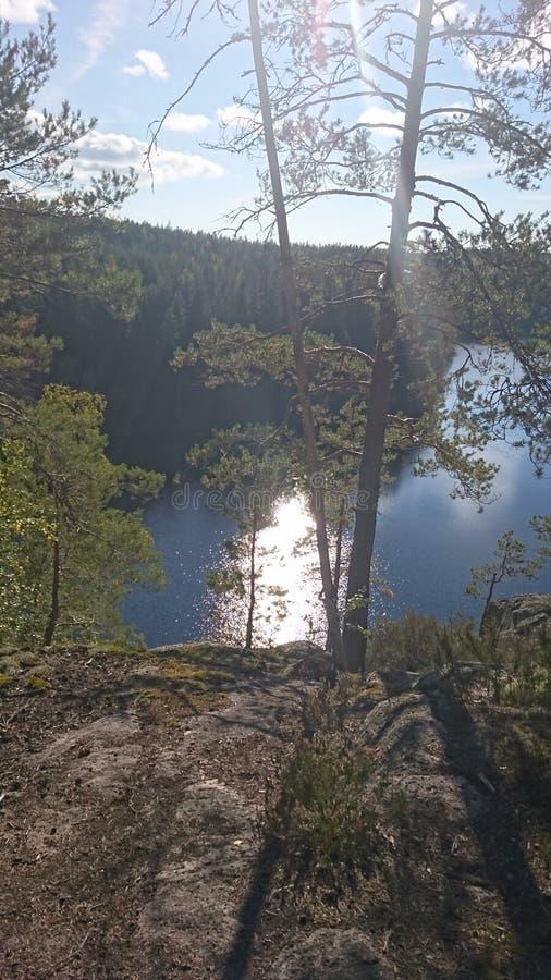 Φύση της Φινλανδίας στοκ εικόνα με δικαίωμα ελεύθερης χρήσης
