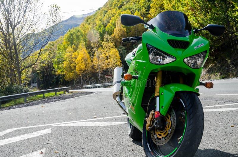 Φύση ninja zx6r 2004 Kawasaki στοκ φωτογραφία με δικαίωμα ελεύθερης χρήσης
