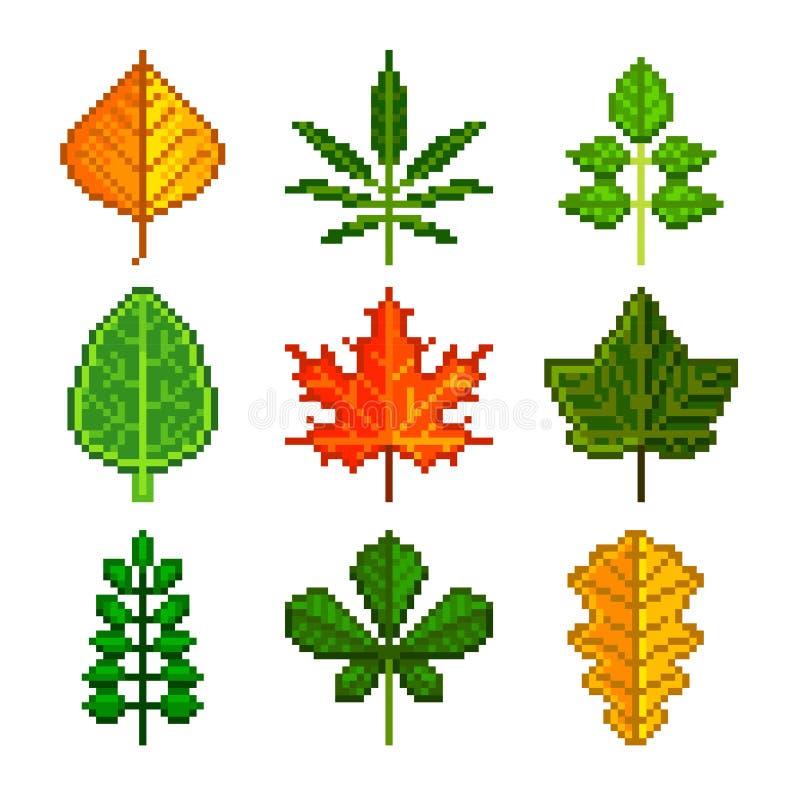 Φύλλα εικονοκυττάρου για το διανυσματικό σύνολο εικονιδίων παιχνιδιών απεικόνιση αποθεμάτων