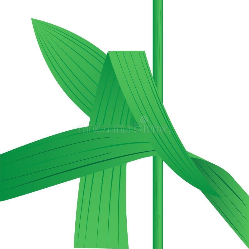 Φύλλα της χλόης απεικόνιση αποθεμάτων