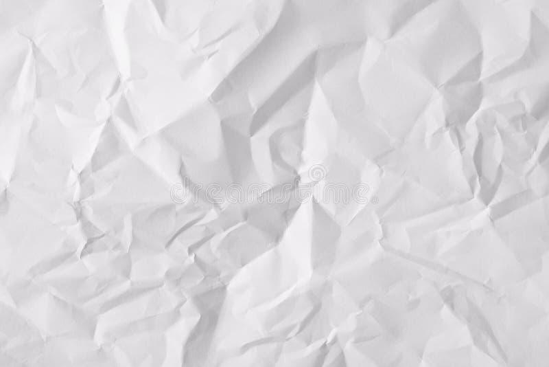 Φύλλο σύστασης του τσαλακωμένου εγγράφου στοκ φωτογραφία