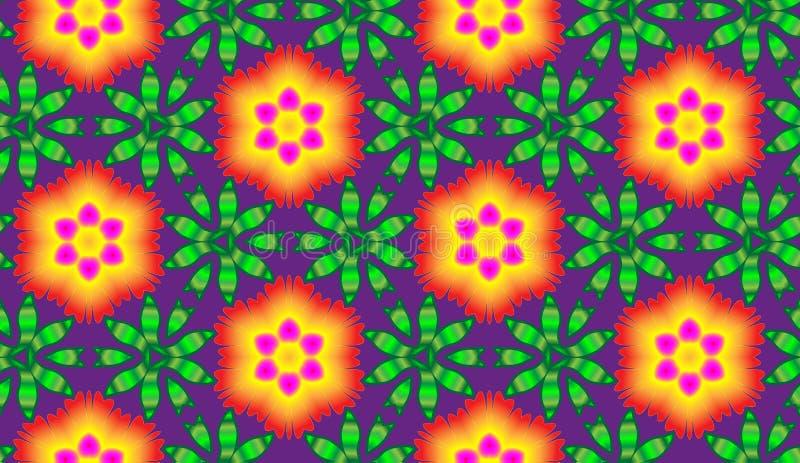 Φλεμένος διάνυσμα λουλουδιών στοκ εικόνες