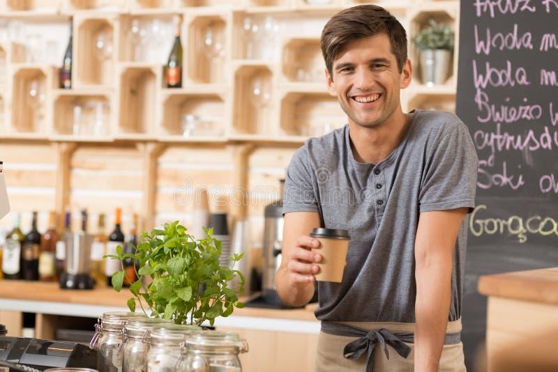Φλιτζάνι του καφέ ειδικά για σας στοκ φωτογραφίες