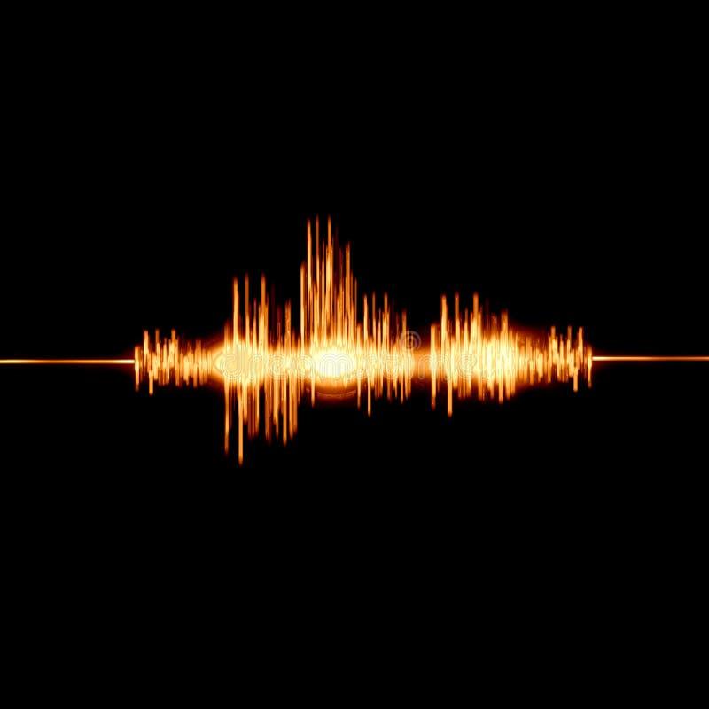 Φλογερά υγιή κύματα απεικόνιση αποθεμάτων