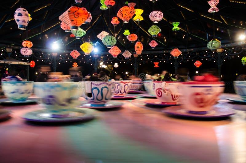 Φλυτζάνια Disneyland Παρίσι στοκ εικόνα με δικαίωμα ελεύθερης χρήσης