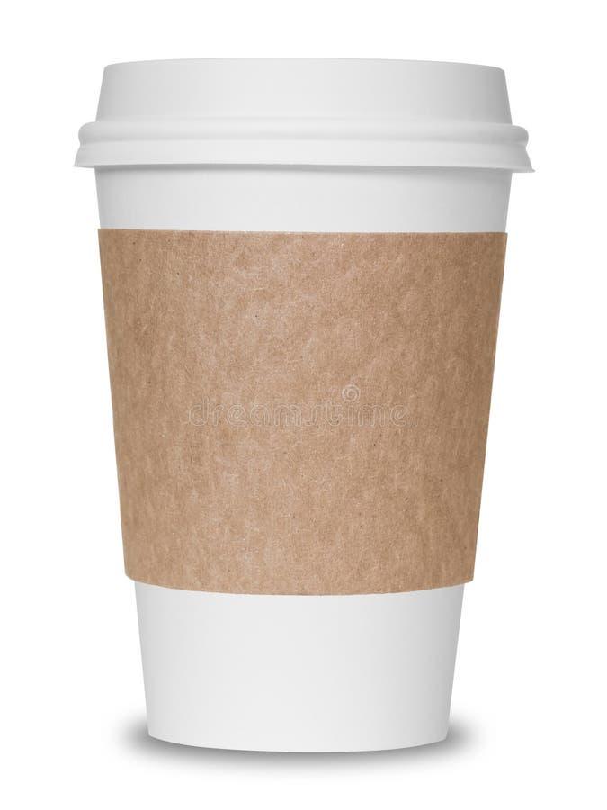 Φλυτζάνι καφέ εγγράφου στοκ φωτογραφίες με δικαίωμα ελεύθερης χρήσης